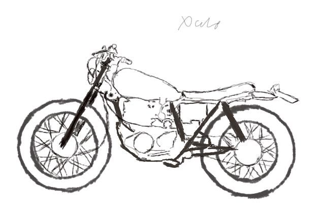 Bike Sketch By Xale225 On Deviantart