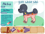 [Glass Bauble Babs] Registration - Akiha by TheSamiC