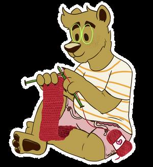 [AF] Soft Knitter Bear