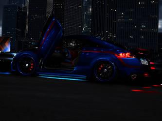 Audi TT BlueDeath by bobitsek