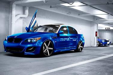 BMW Blue by bobitsek