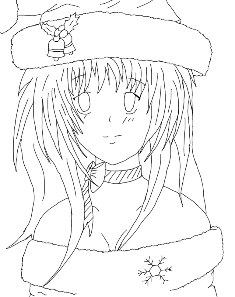 Line Art Digital : My oc digital line art by elianapaie aj on deviantart