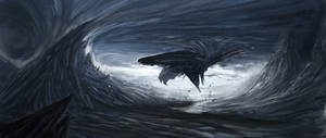 whale storm by weebasaurus