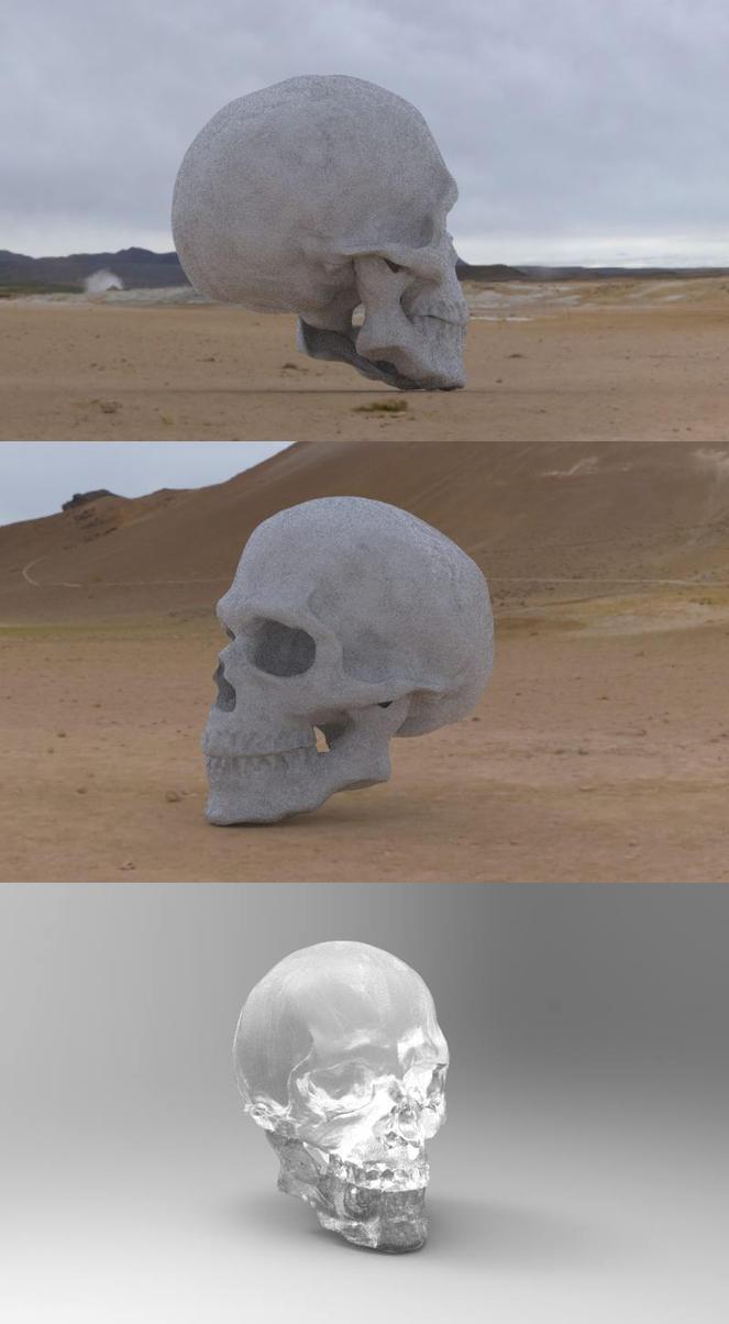 Skull by weebasaurus