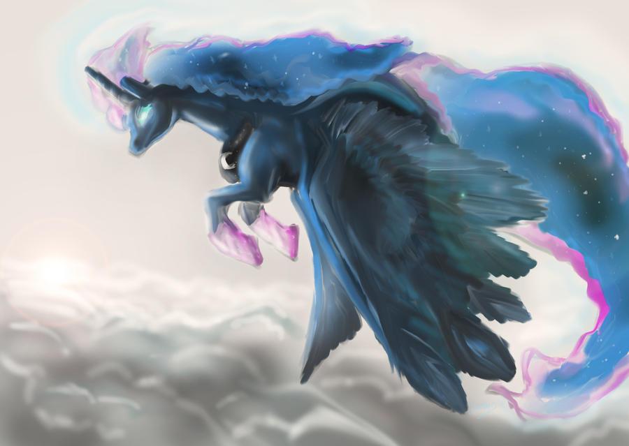 Princess Luna by MyLittleGodzilla