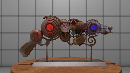Steampunk Gun Wallpaper