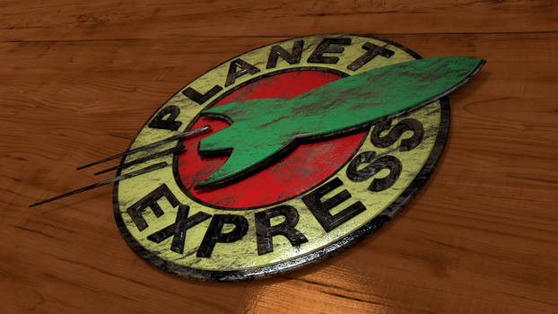 Planet Express Sign