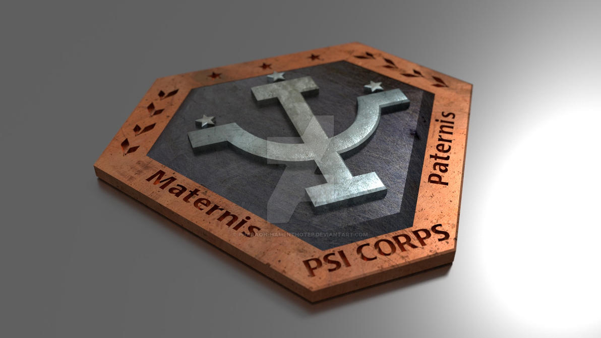 Psi Corp Badge 2 by Pharaoh-Hamenthotep