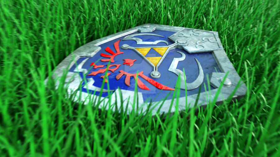 Hylian Shield Patreon preview by Pharaoh-Hamenthotep