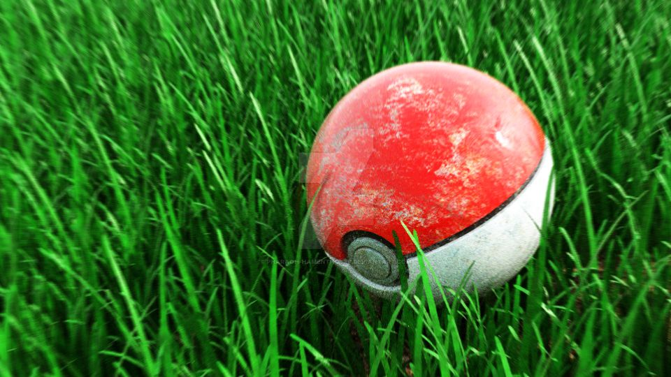Pokeball (Low Res) by Pharaoh-Hamenthotep