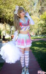Kotori cheerleader