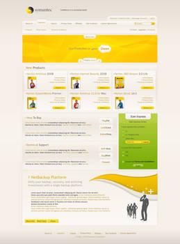 Symantec Security Layout