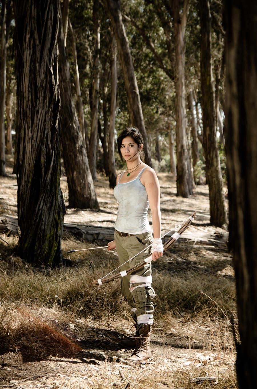 Melissa Meli as Lara Croft by PriscillaVesper