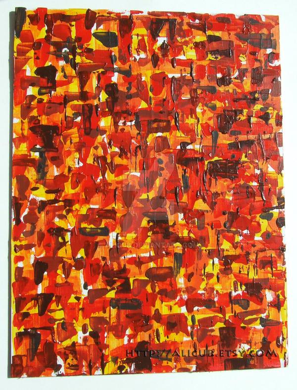 Warmth Original Acrylic by alicub