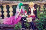Vocaloid: Gumi and Len Dragon