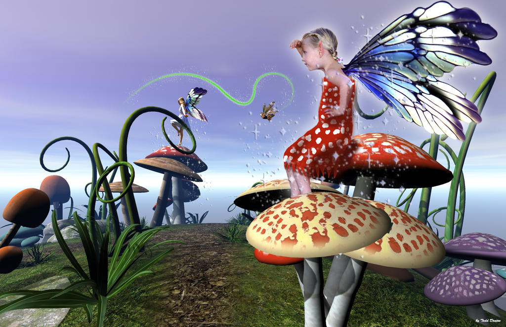 Fairie Sunset by JustmeTD
