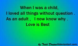 Love is Best