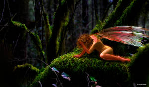 Goodnight sunshine fairy by JustmeTD
