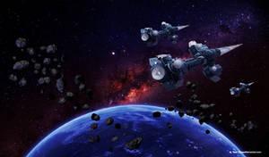 Space Fleet by JustmeTD