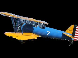 Biplane PNG stock