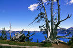 Crater Lake Stock Background