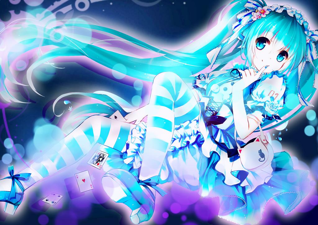 Hatsune Miku - Cute and Innocent by Nikki-Kaji