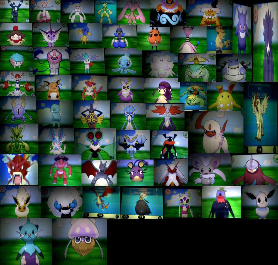 Pokemon X/Y: My Shiny Collection by Nikki-Kaji