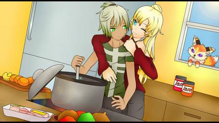 Cooking Time! (Contest Entry) by Nikki-Kaji