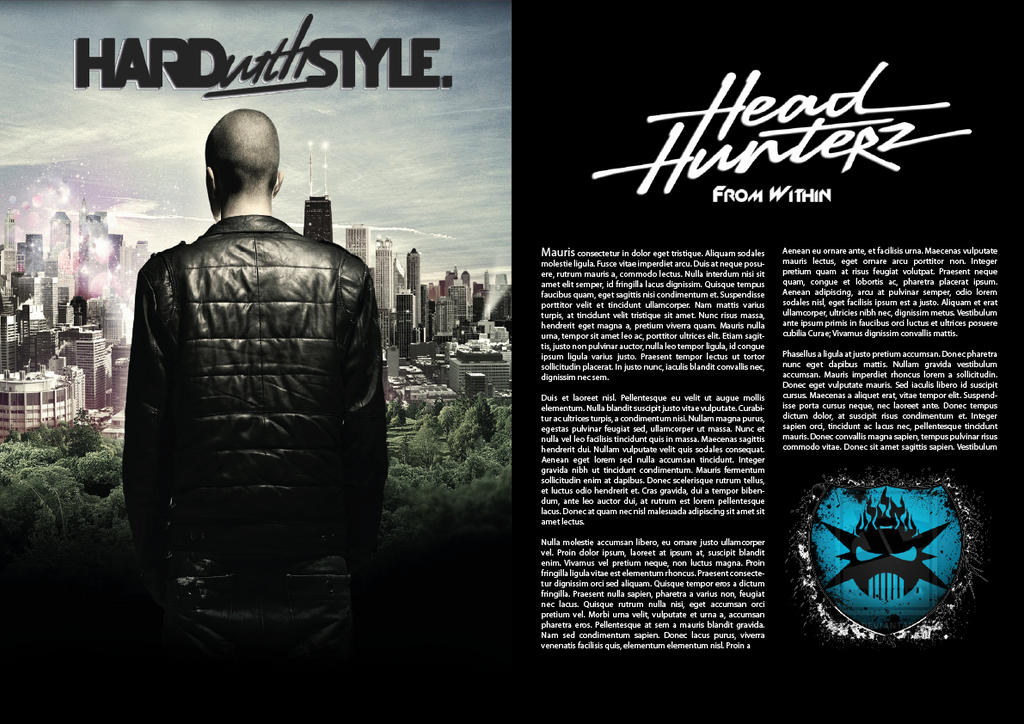Headhunterz cover page by Manwex96