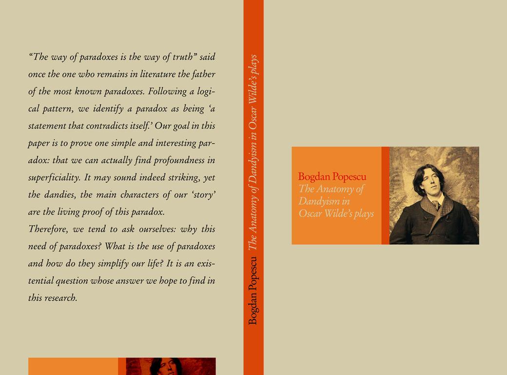 Dandyism in Wilde's Plays by christafan