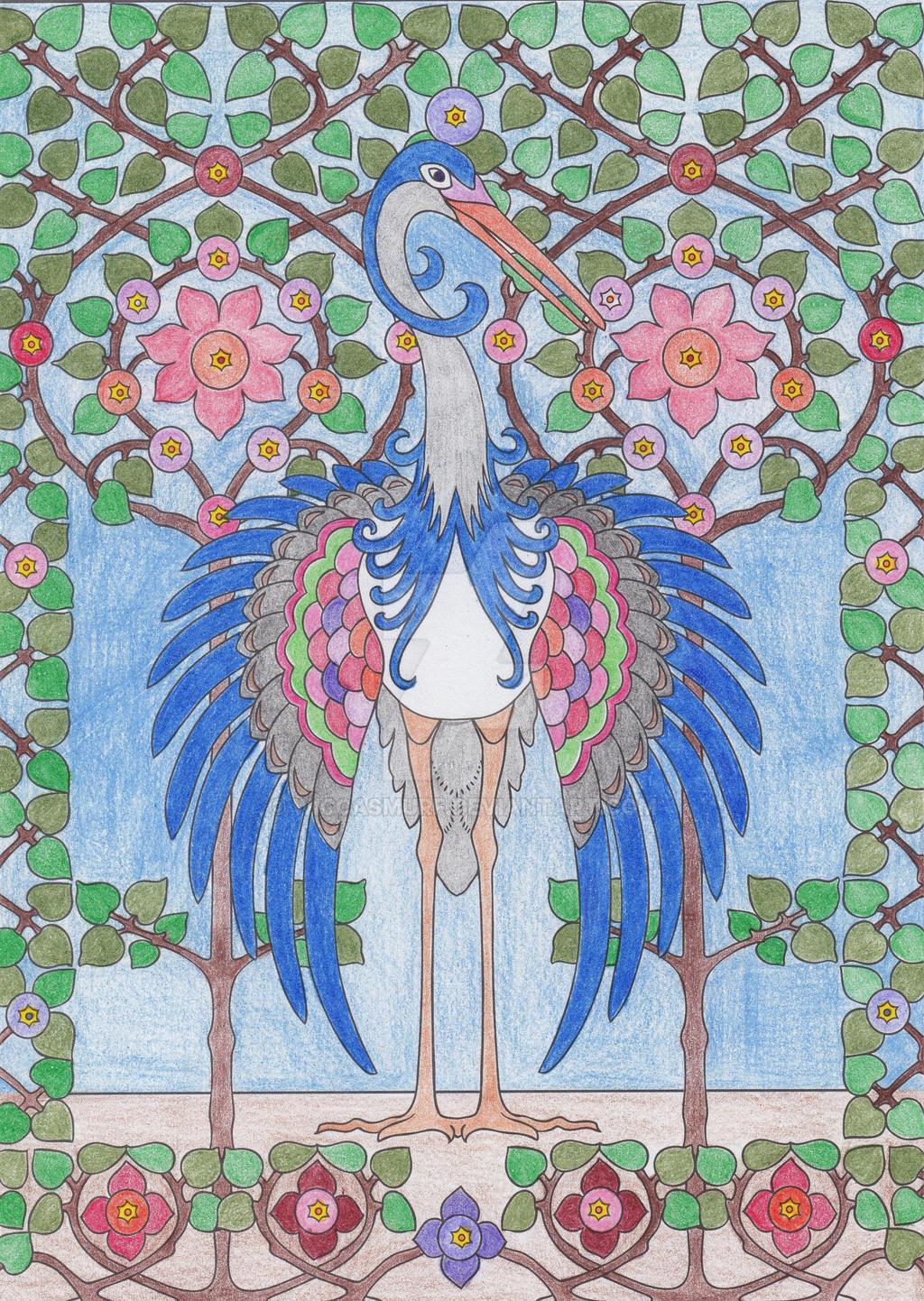 Peafowl by WiccaSmurf