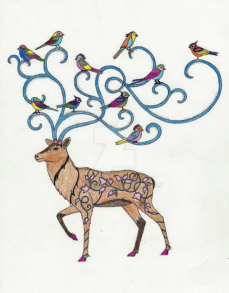 Deer by WiccaSmurf
