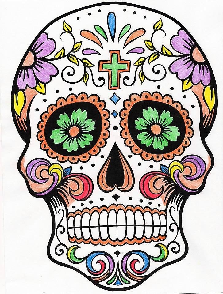 Sugar Skull by WiccaSmurf