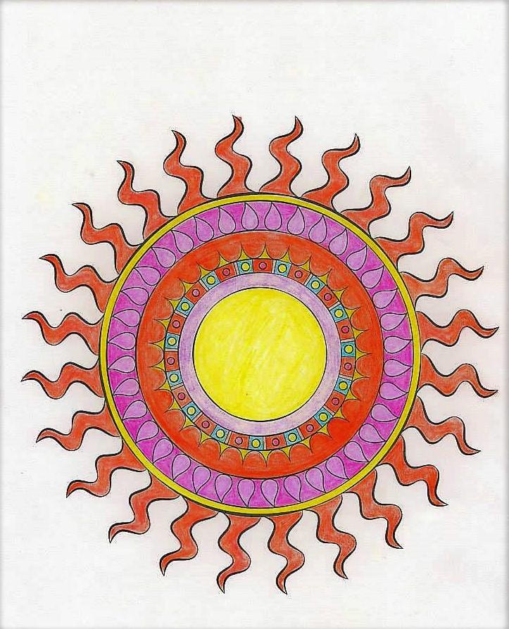 Sun by WiccaSmurf