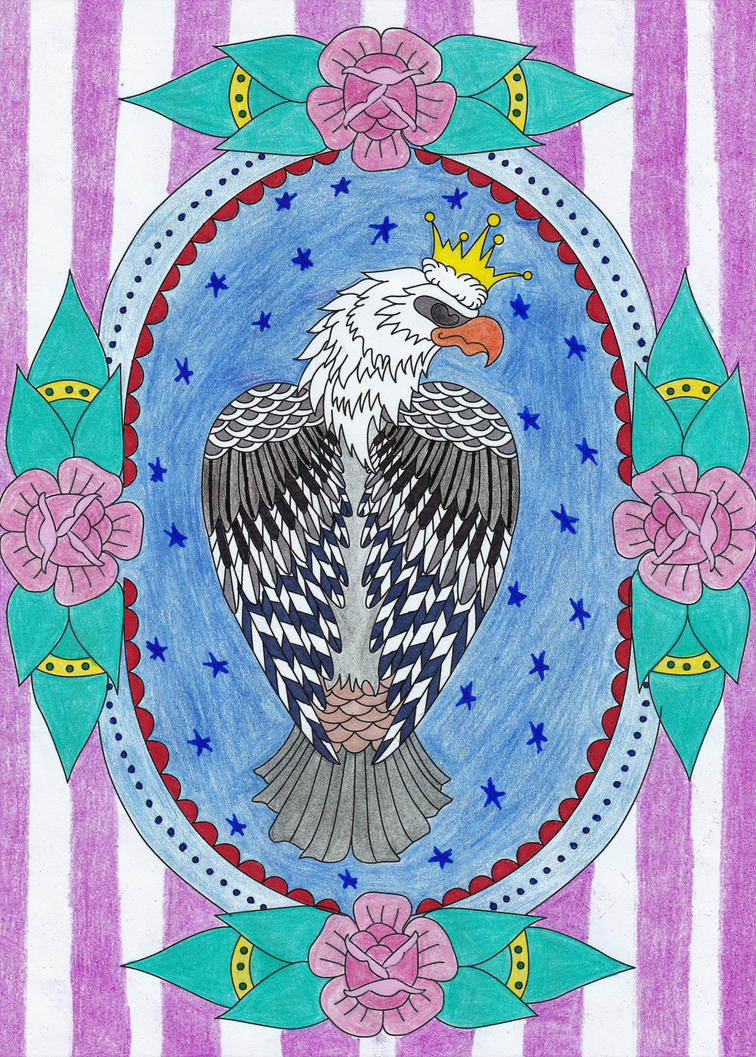 Eagle by WiccaSmurf