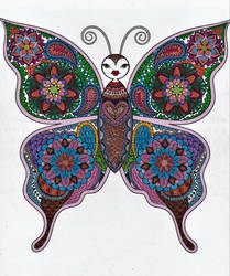 Butterfly by WiccaSmurf