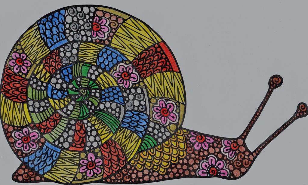 Snail by WiccaSmurf