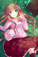 Forest Girl by Dizzyworld2