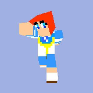 Rena in Minecraft