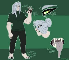 How I Draw Sephiroth by TsubasaTheNightFury