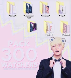  Pack 300 watchers 