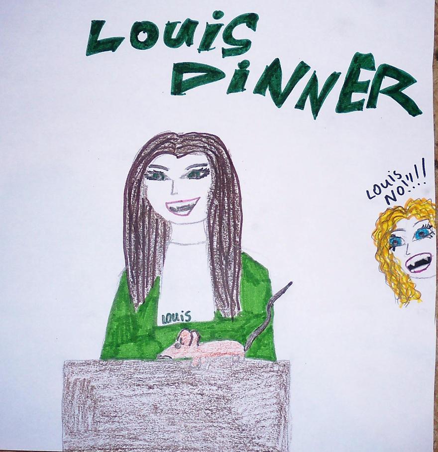 Louis' dinner by lestat1991