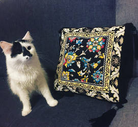 Oriental pillow