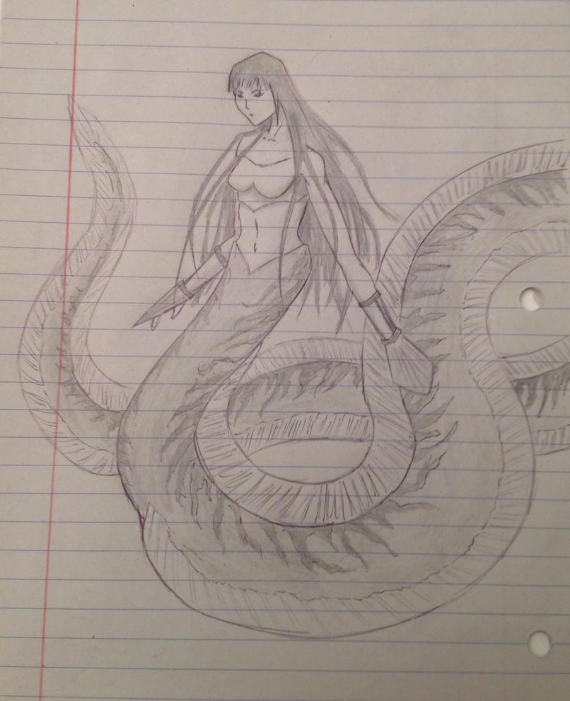 Eel girl by Rainsworld47