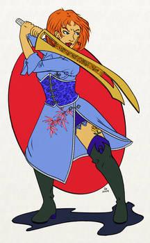 Tepet Gilgimeshi, sister of the Roseblack