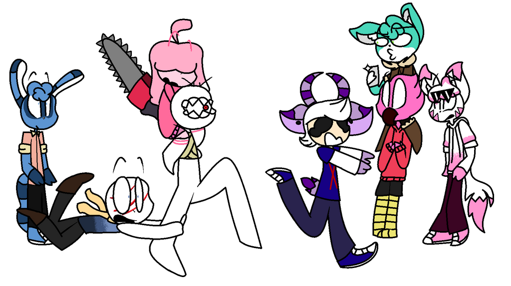 Dumb draw the squad meme i made in school by SC0RM