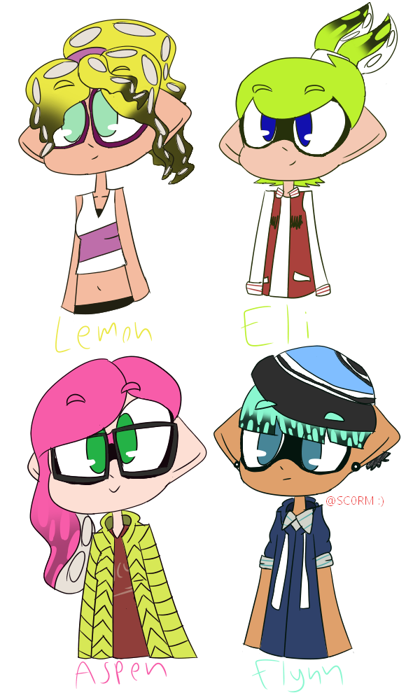 Squiddies by SC0RM