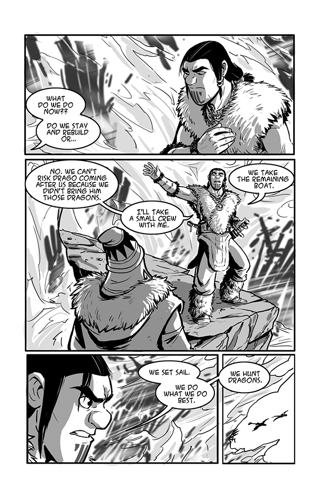 Dragon Trappers P.28 by rufftoon