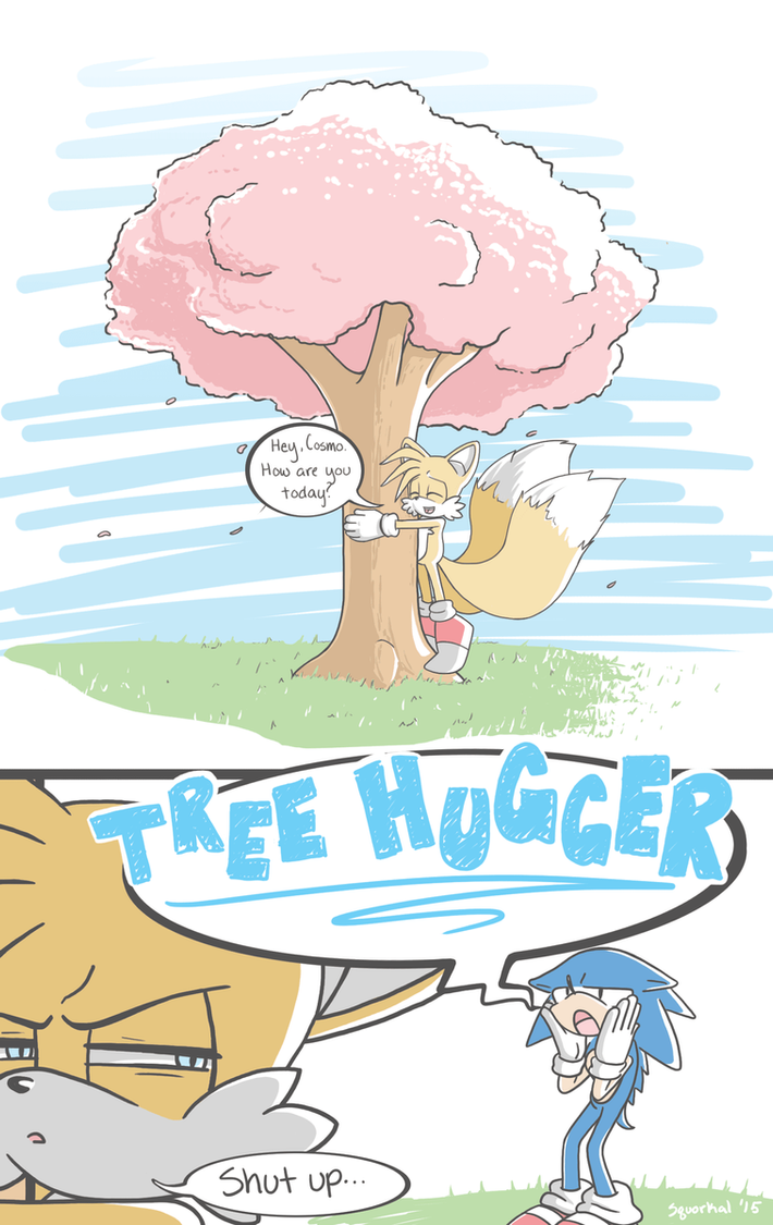 Tree Hugger by kora-kristou777