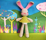 spring rabbit by rosieok
